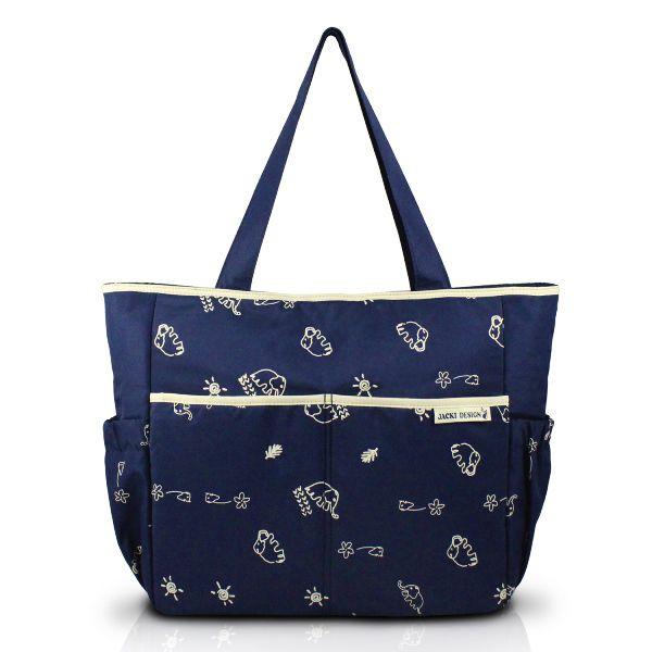 Bolsa de Bebê Estampada Com Trocador - Jacki Design