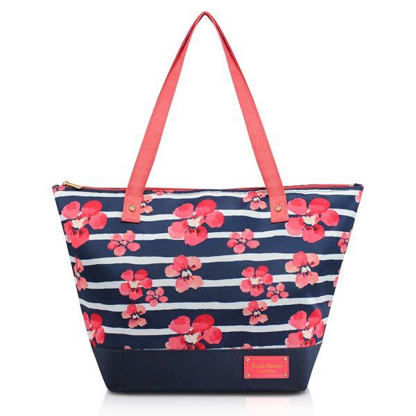 Bolsa Feminina com Estampa Floral - Jacki Design