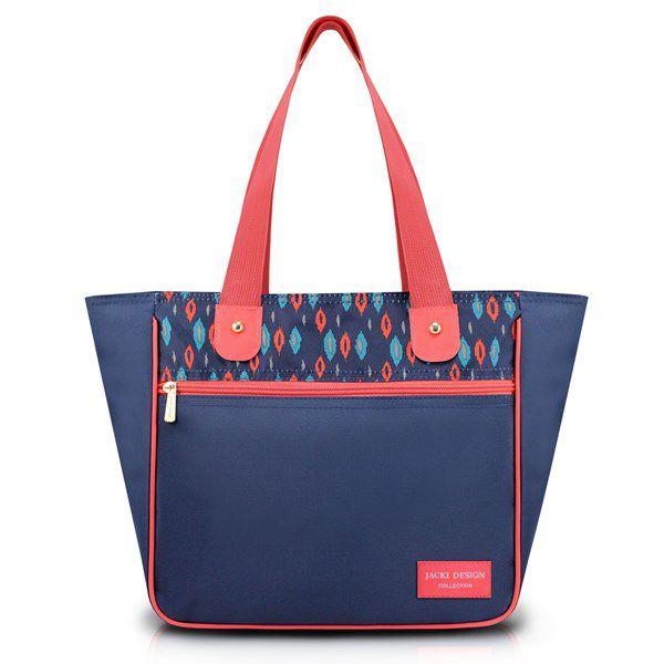 Bolsa Feminina Grande com Bolso Frontal - Jacki Design