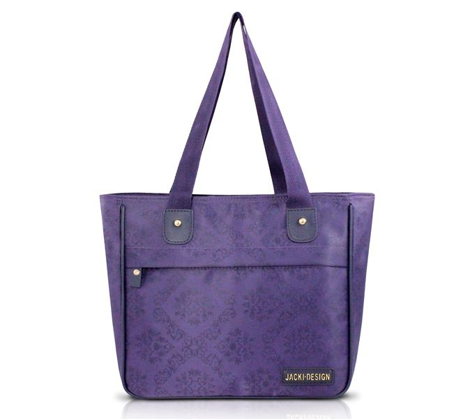 Bolsa Feminina Shopper Damasco - Jacki Design