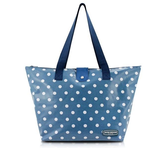 Bolsa Feminina Shopper Tam. G de Bolinha - Jacki Design