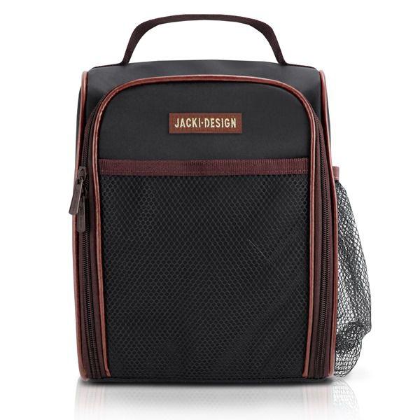 Bolsa Térmica Masculina de Alça com Bolos Externos - Jacki Design