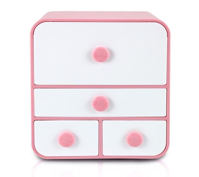 Caixa Organizadora Com 4 Gavetas Grande - Jacki Design