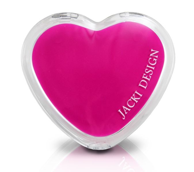 Espelho de Bolsa Coração - Jacki Design