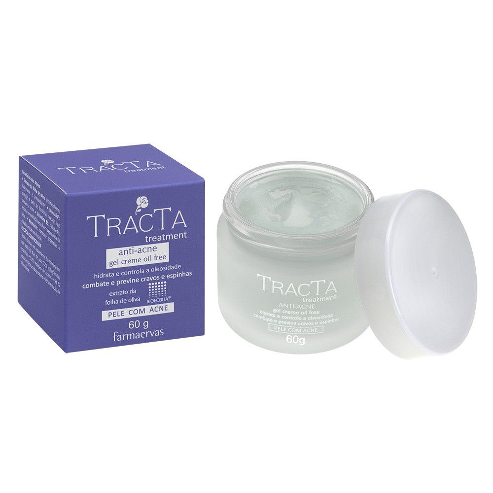Gel Creme Anti Acne - Tracta