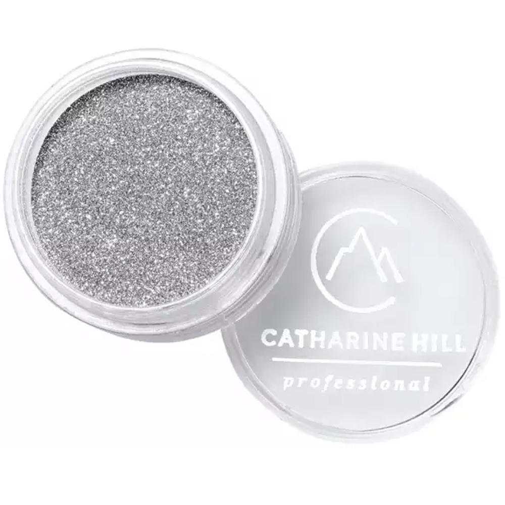 Glitter Fino Prata Claro 4g - Catharine Hill