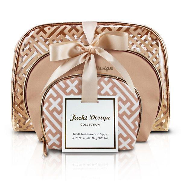 Kit de Necessaire Com 3 Peças - Diamante - Jacki Design