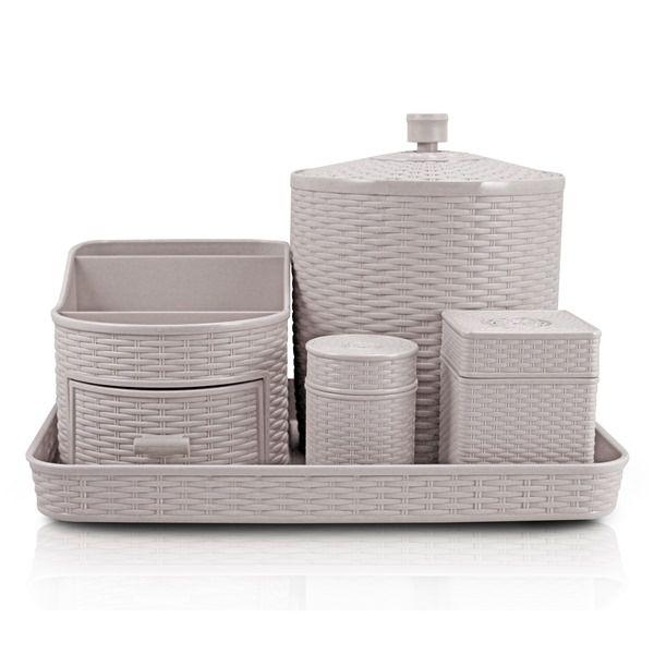 Kit de Organização com 5 Peças - Jacki Design AHX18682