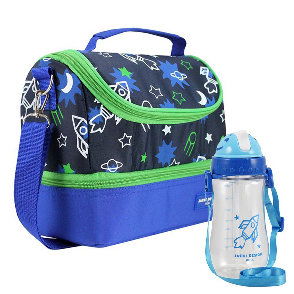 Lancheira Térmica Infantil Masculina + Squeeze - Jacki Design
