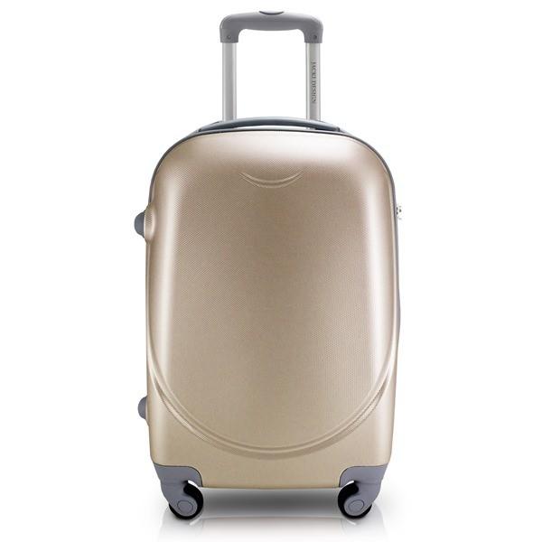 Mala de Viagem de Rodinhas Dourada - Jacki Design APT17571