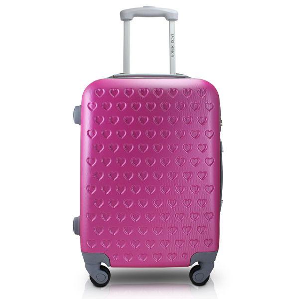 Mala de Viagem de Rodinhas Pink - Jacki Design APT17578