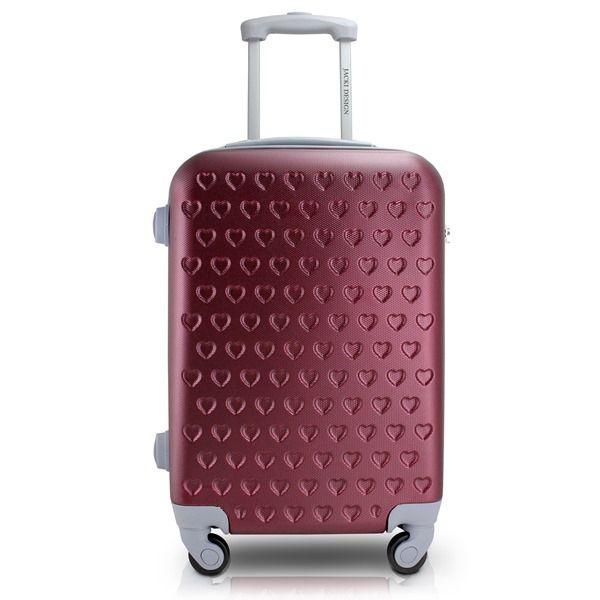 Mala de Viagem de Rodinhas Vermelha - Jacki Design APT17576