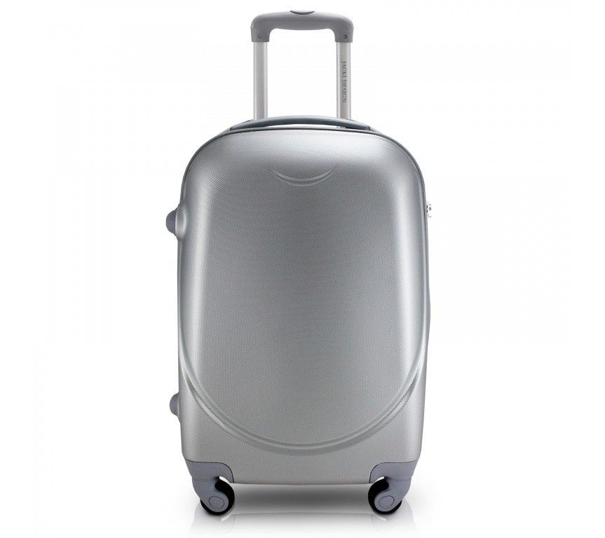 Mala de Viagem Prateada Select - Jacki Design APT17363