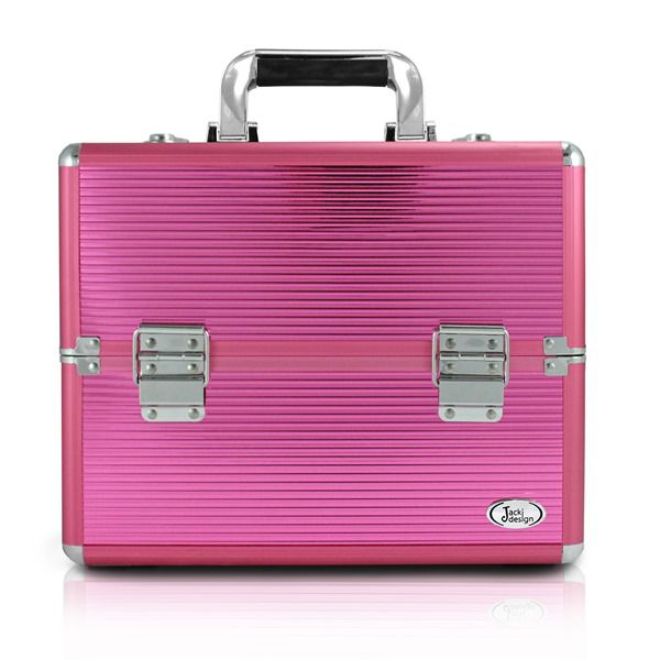Maleta de Maquiagem Profissional Pink - Jacki Design