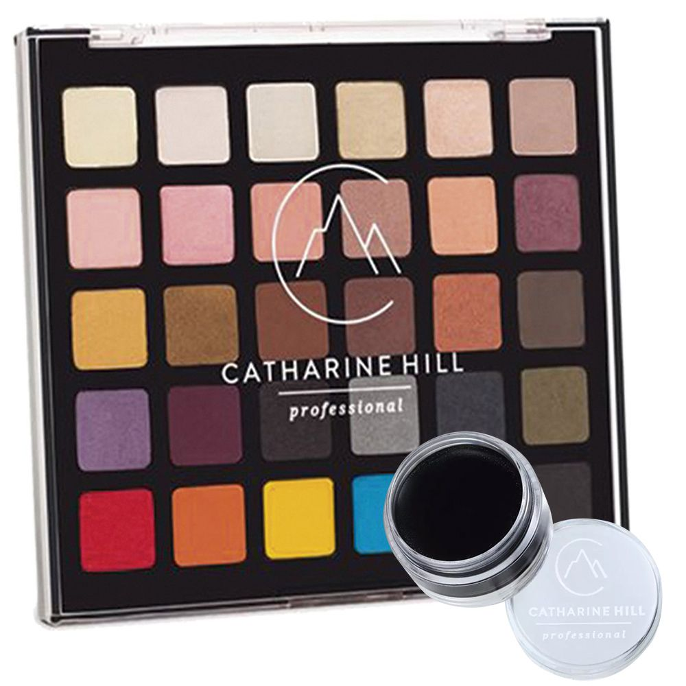 Paleta de Sombras Catharine Hill + Clown Preto