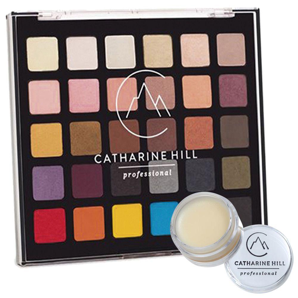 Paleta de Sombras Catharine Hill + Fixador de Glitter