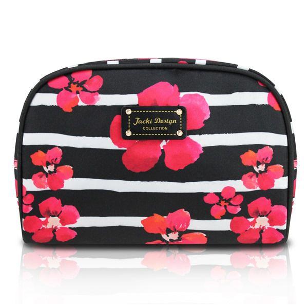 Necessaire Feminina Retangular Estampa Floral - Jacki Design