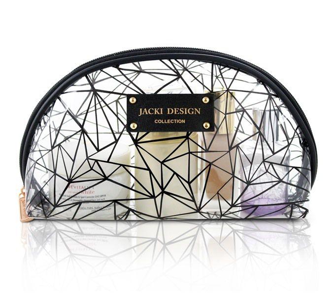 Necessaire Feminina Meia Lua Transparente - Jacki Design