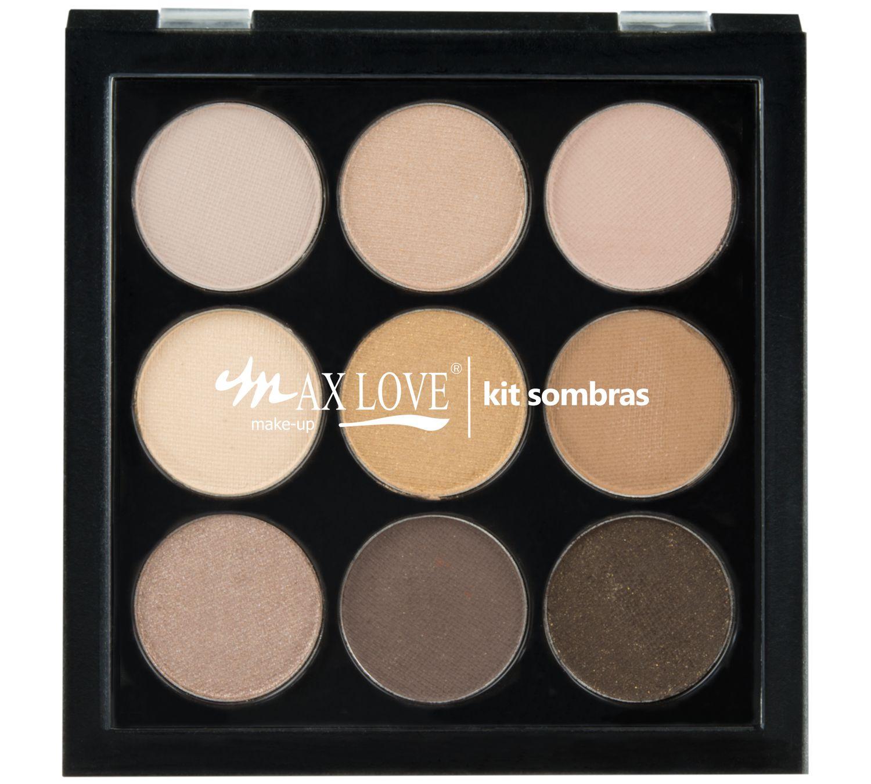 Paleta de Sombras 9 Cores - Max Love