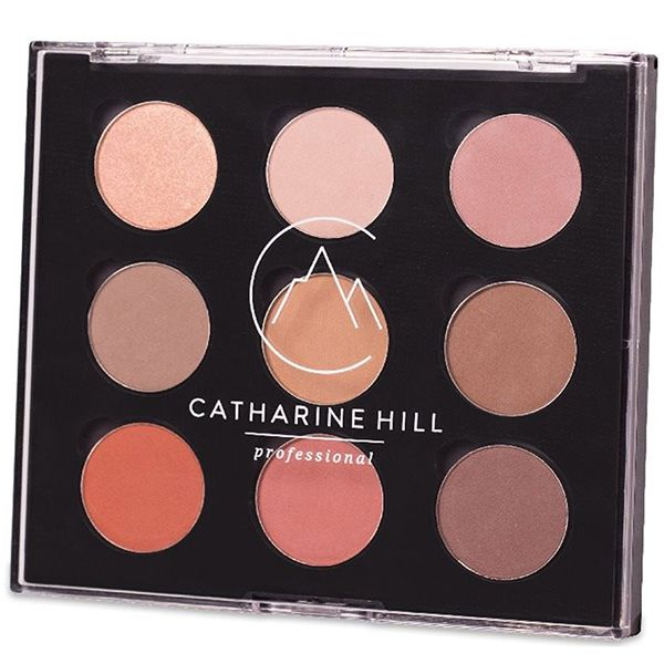 Paleta de Sombras 9 Cores Personal Palette 1017/1 - Catharine Hill
