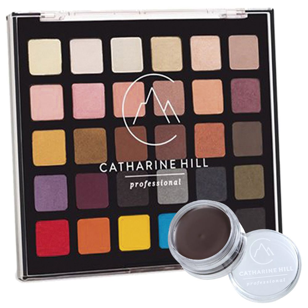 Paleta de Sombras Catharine Hill + Clown Adjuster Escuro