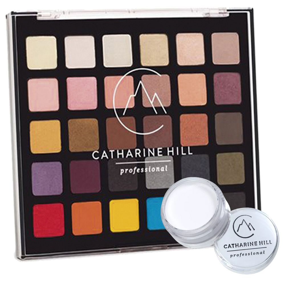 Paleta de Sombras Catharine Hill + Clown Branco