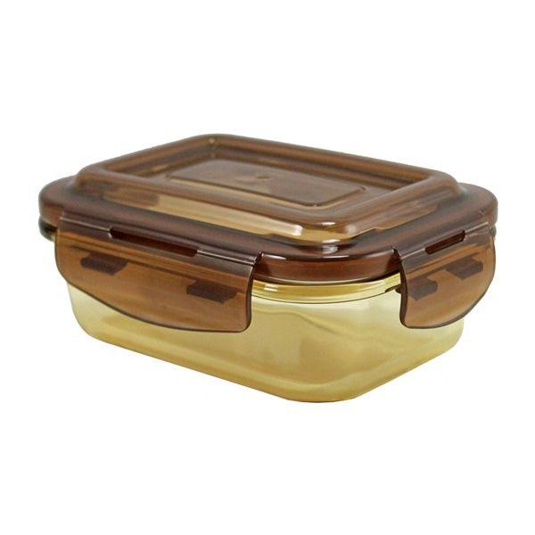 Pote de Vidro Hermético Marrom (P) 400ml - Jacki Design APF18599-MR