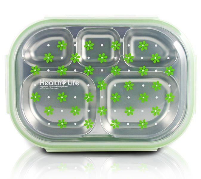 Pote Marmita Com 5 Compartimentos - Jacki Design