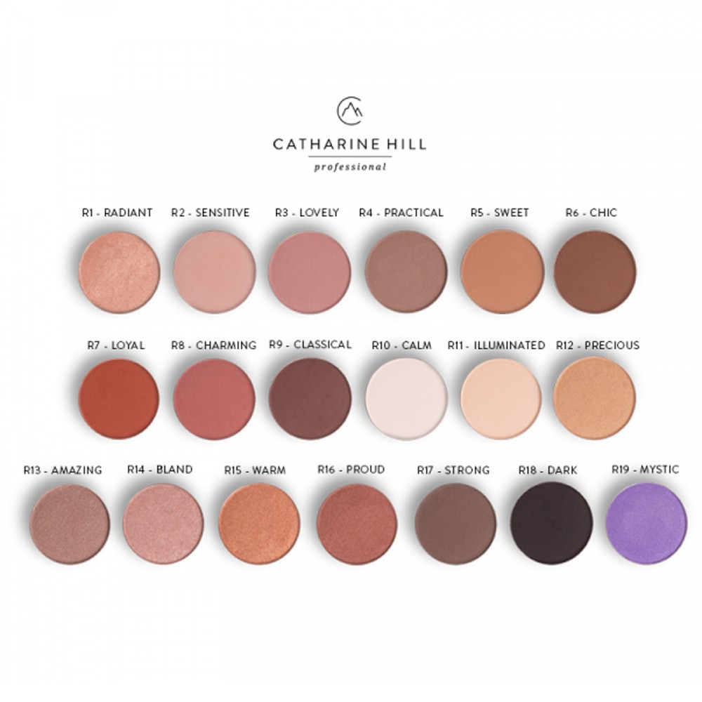 Sombra Refil Eyeshadow - Catharine Hill