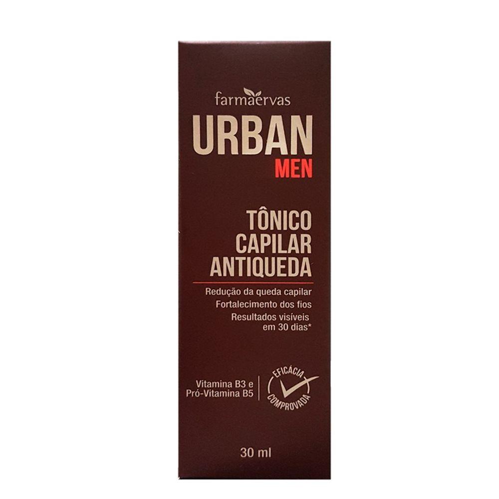 Tônico Capilar Antiqueda Urban Men - Farmaervas