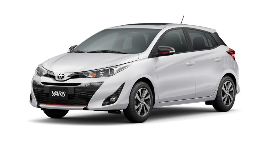 Toyota Yaris  (4 vidros - vidros inteligentes) - SL276 - módulo 2 em 1 ( subida dos vidros e rebatimento de retrovisor )