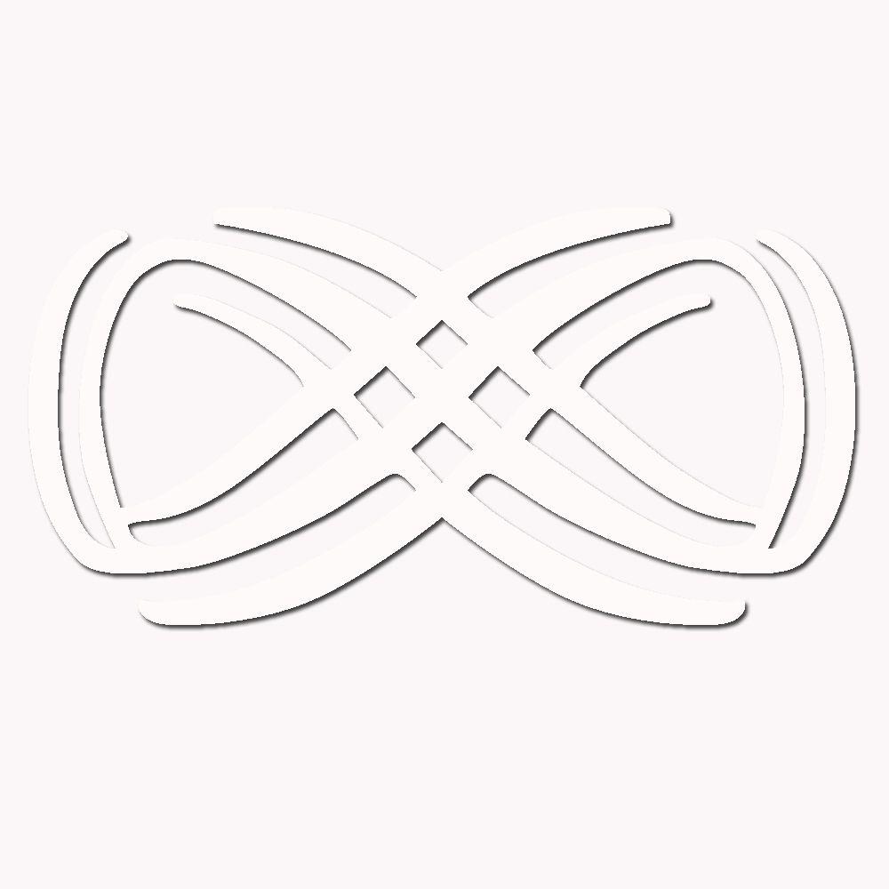 Escultura de Madeira MDF laminado Branco Para Parede Tamanho 100 x 50 cm