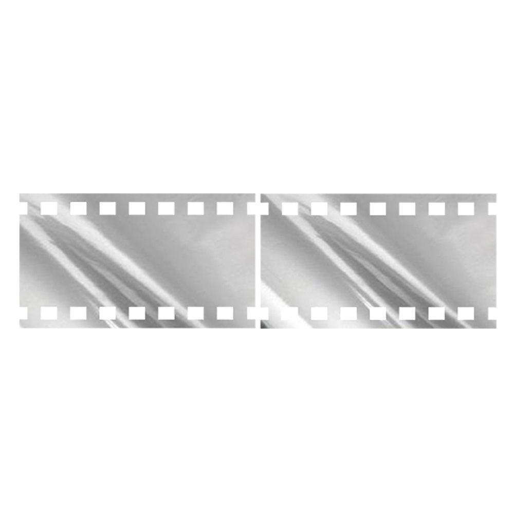 Espelhado Decorativo Fita de Vídeo 100 x 28 cm