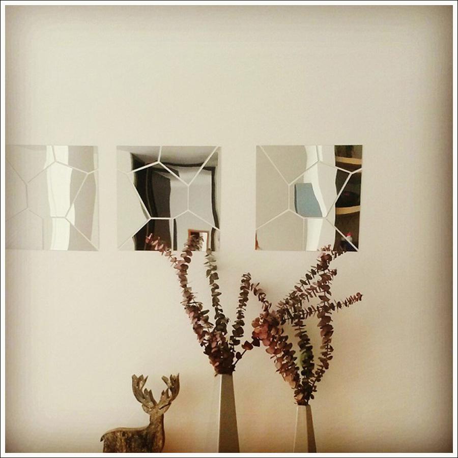 Espelho Acrílico De Parede Para Sala de Estar 2,02 Mt X 49 Cm