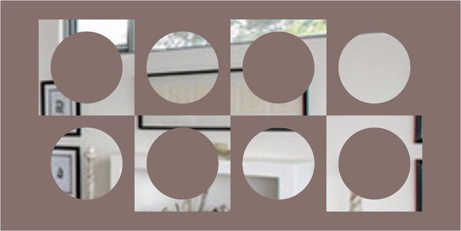 Espelho Decorativo Em Acrílico 196 Cm X 98 Cm Personalizável