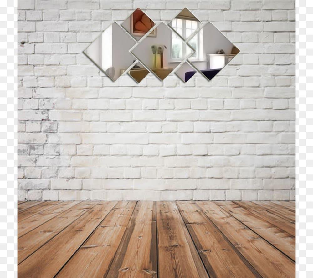 Espelho Decorativo Em Acrílico Espelhado Para sala 1,60 mt Personalizável