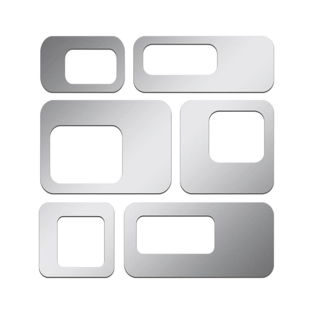 Espelhos Decorativos em Acrílico Pontos Quadrados