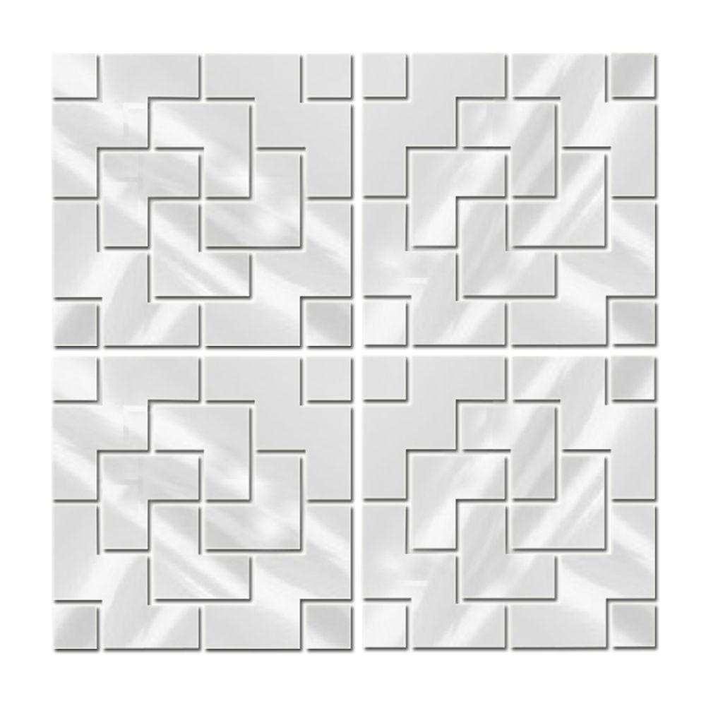 Espelhos Decorativos Para Quarto de Casal Em Acrílico Estilo Diagonal 49 X 202 Cm