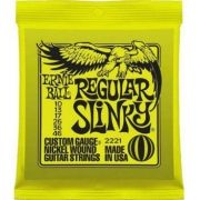 ENCORDOAMENTO P/GUITARRA ERNIE BALL 010 REGULAR SLINK 2221