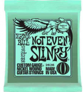 ENCORDOAMENTO P/GUITARRA ERNIE BALL 012 NOT EVEN SLINK 2626