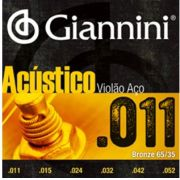 ENCORDOAMENTO P/VIOLÃO AÇO 0.11 GIANNINI GESPW