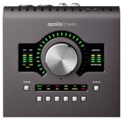 INTERFACE DE ÁUDIO THUNDERBOLT UNIVERSAL AUDIO APOLLO TWIN MKII DUO