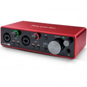 INTERFACE DE ÁUDIO USB FOCUSRITE SCARLETT 2I2 3ND GEN
