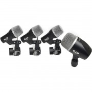 KIT MICROFONES P/ BATERIA CAD STAGE 4