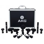 MICROFONE KIT P/BATERIA AKG DRUM SET SESSION 1