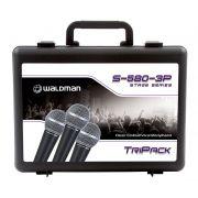 MICROFONE DINÂMICO WALDMAN S-580-3P