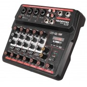 MÍXER ANALÓGICO SOUNDVOICE MC-6BT