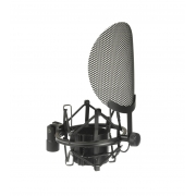 SHOCK MOUNT / POP FILTER GOLDEN AGE PROJECT SP1