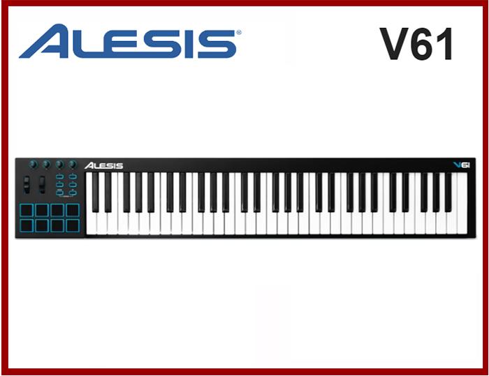 TECLADO CONTROLADOR MIDI ALESIS V61