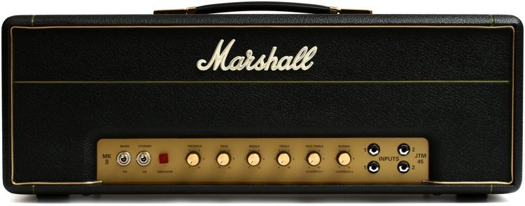 AMPLIFICADOR HEAD P/GUITARRA MARSHALL JTM45 2245